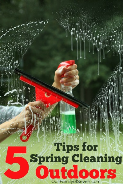 5 Tips for Spring Cleaning Outdoors