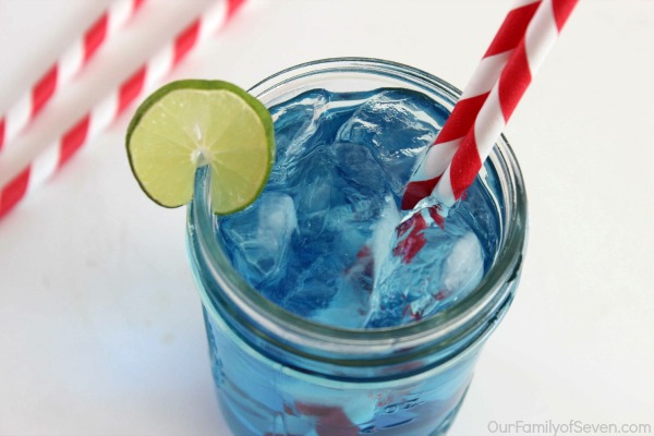 This CopyCat Sonic Ocean Water is just like Sonic Drive Inn. A refreshing mixture of Sprite, Coconut Flavoring, Sugar and Water that is sure to cool you down this summer.