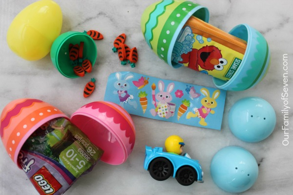20+ Non-Candy Easter Egg Filler Ideas- Great ideas for babies, kiddos, teens and adults.