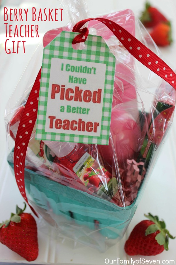 Berry Basket Teacher Gift 1