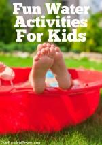 25 Fun Water Activities for Kids