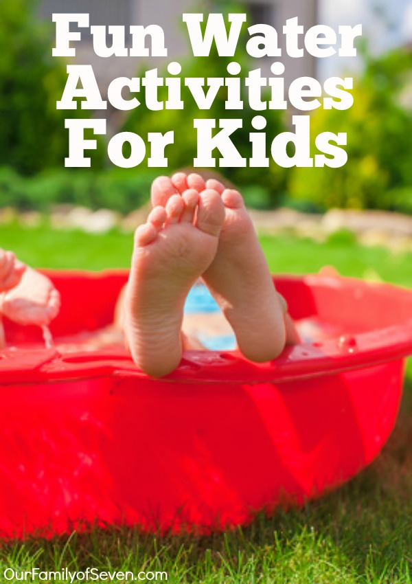 25 Fun Water Activities For Kids- Knockout summer boredom with these fun water play ideas.
