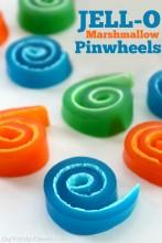 Jell-O Marshmallow Pinwheels
