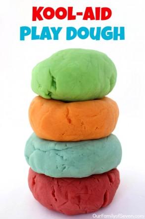 Kool-Aid Play Dough
