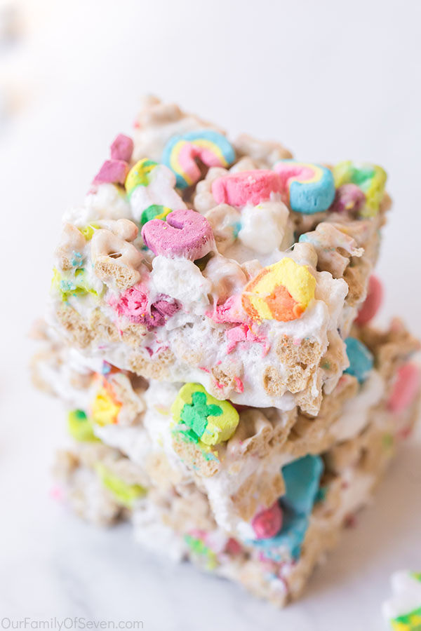 Lucky Charm Cereal Bars