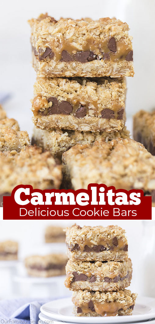 Long Pin collage Carmelitas Delicious Cookie Bars