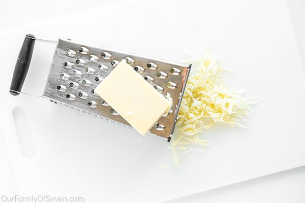 Shredding cheese