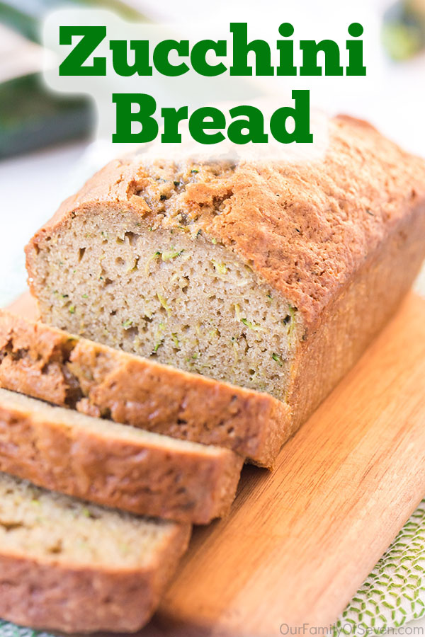 Text on image Zucchini Bread